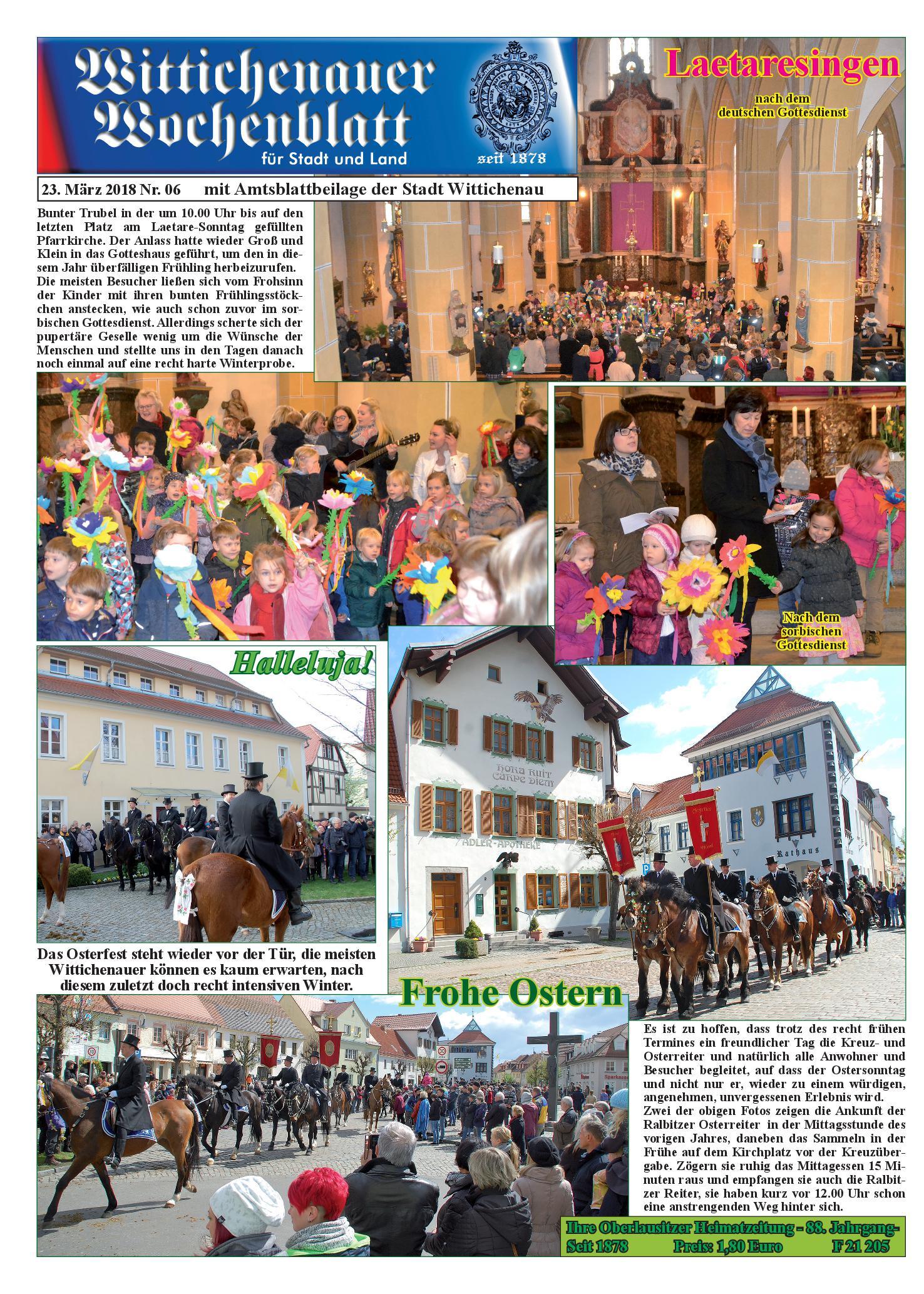 Wochenblatt Nr. 6 - 2018