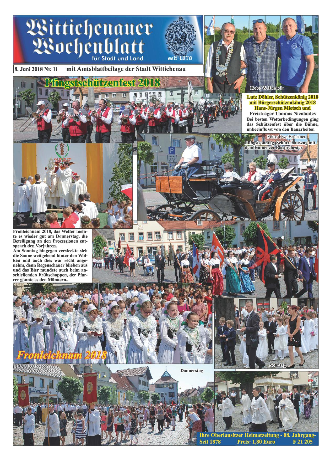 Wochenblatt Nr. 11 - 2018