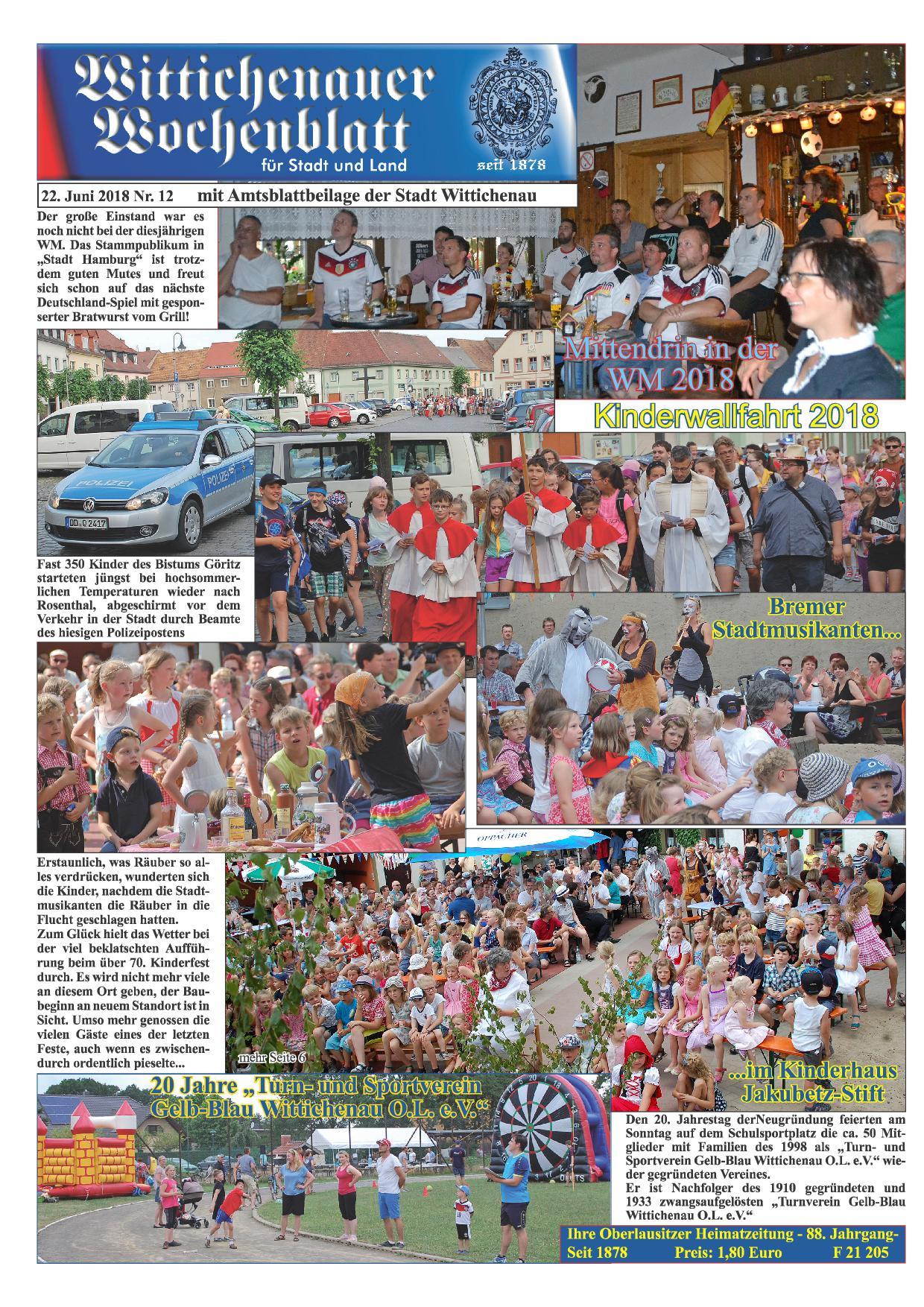 Wochenblatt Nr. 12 - 2018