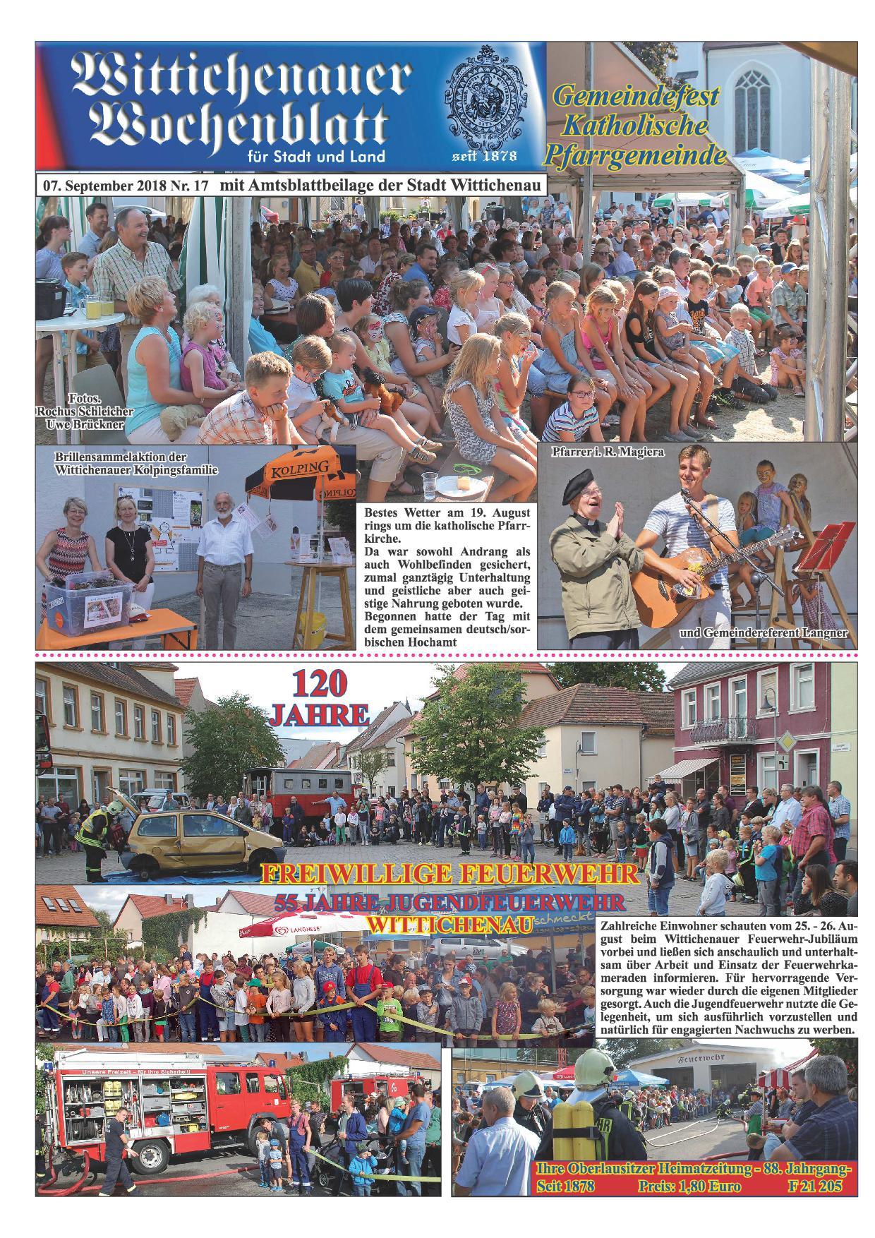 Wochenblatt Nr. 17 - 2018