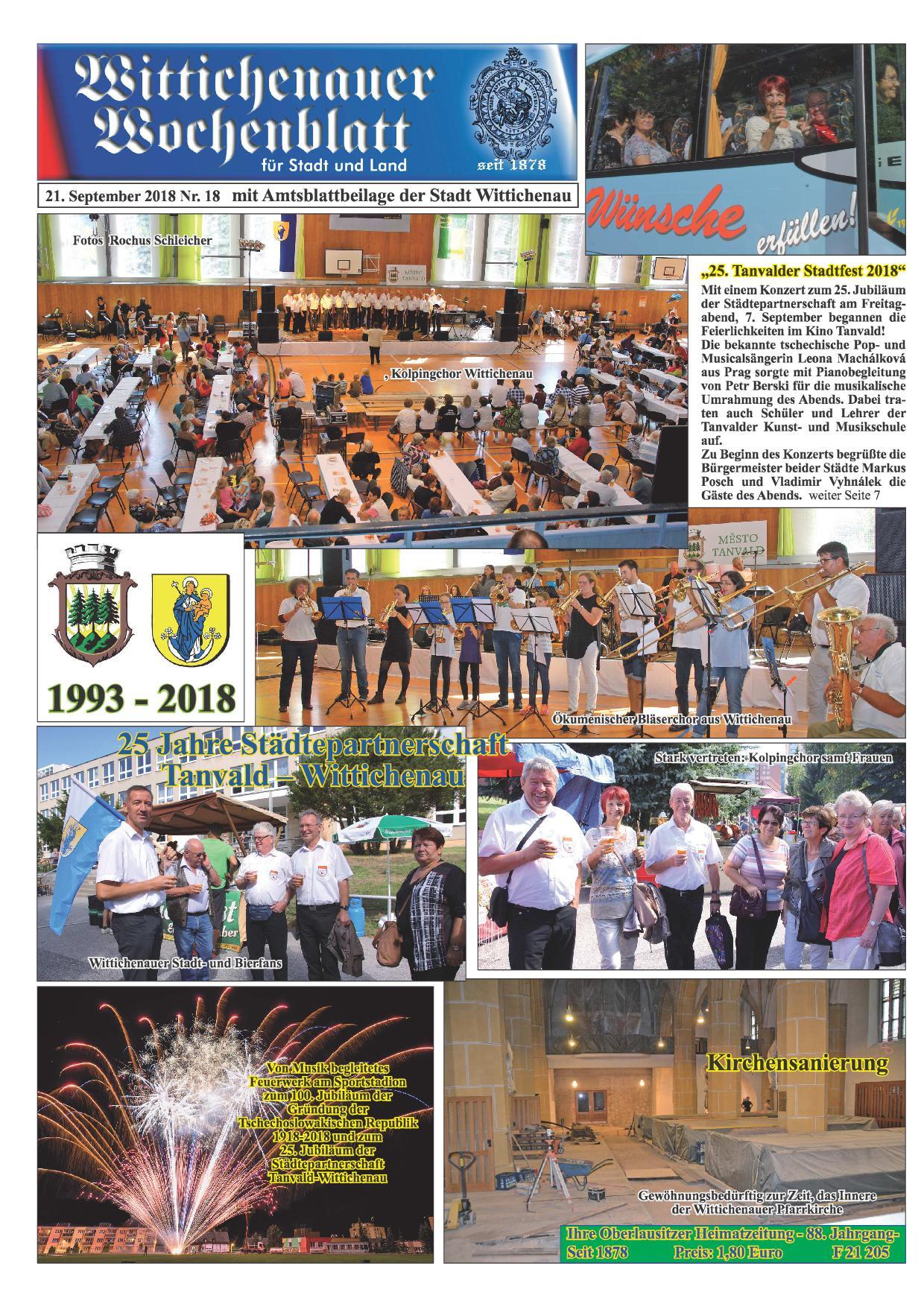 Wochenblatt Nr. 18 - 2018
