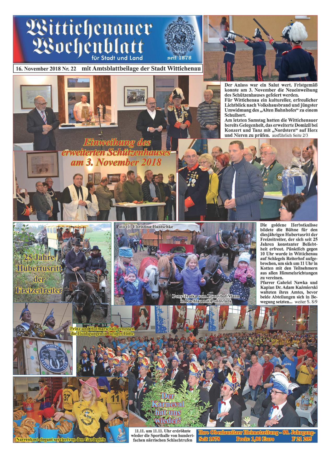 Wochenblatt Nr. 22 - 2018