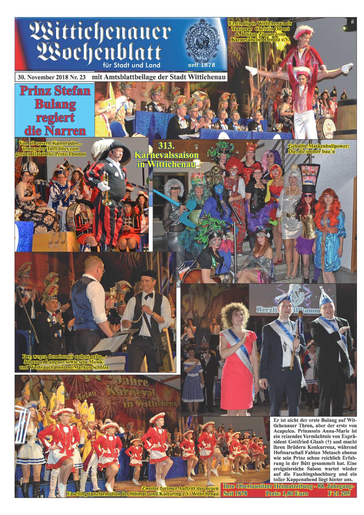 Wochenblatt Nr. 23 - 2018