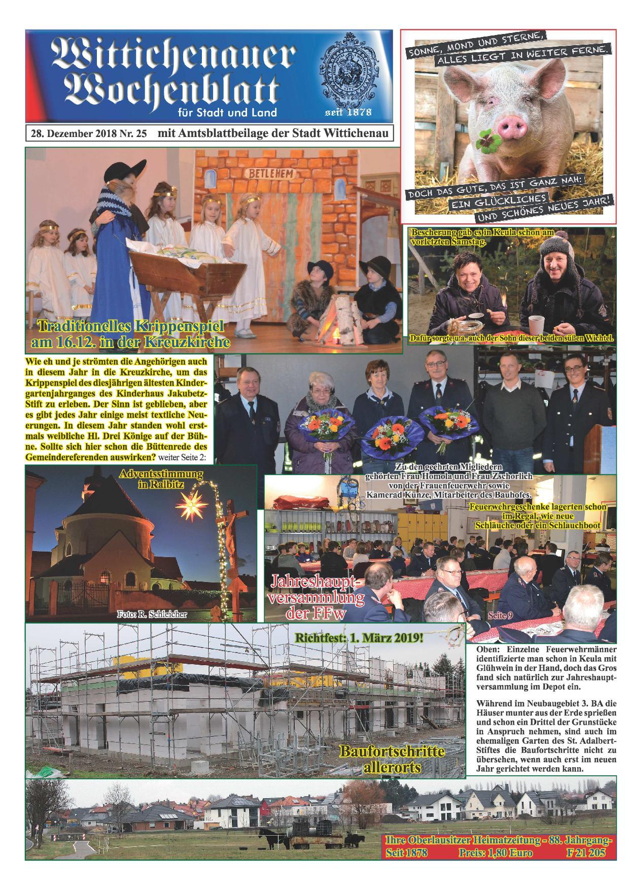 Wochenblatt Nr. 25 - 2018