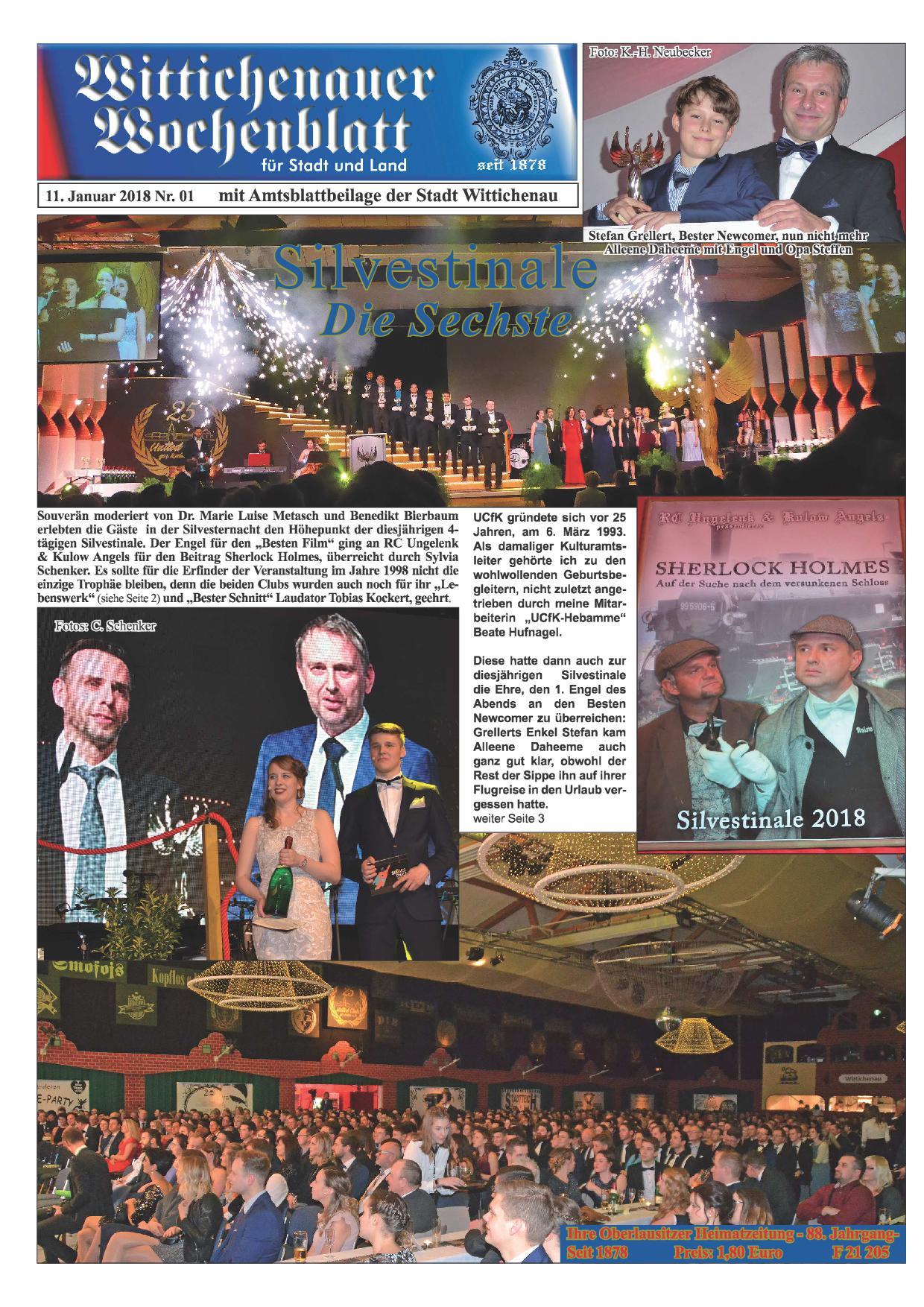 Wochenblatt Nr. 1 - 2019