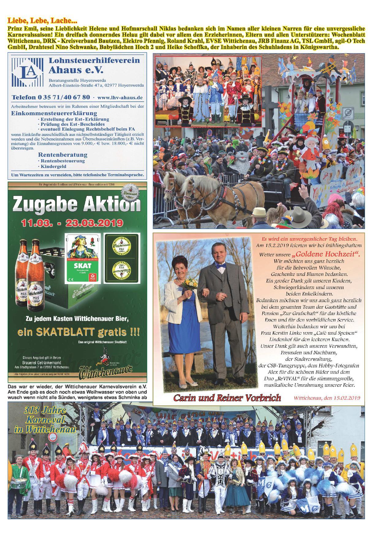 Wochenblatt Nr. 4 - 2019