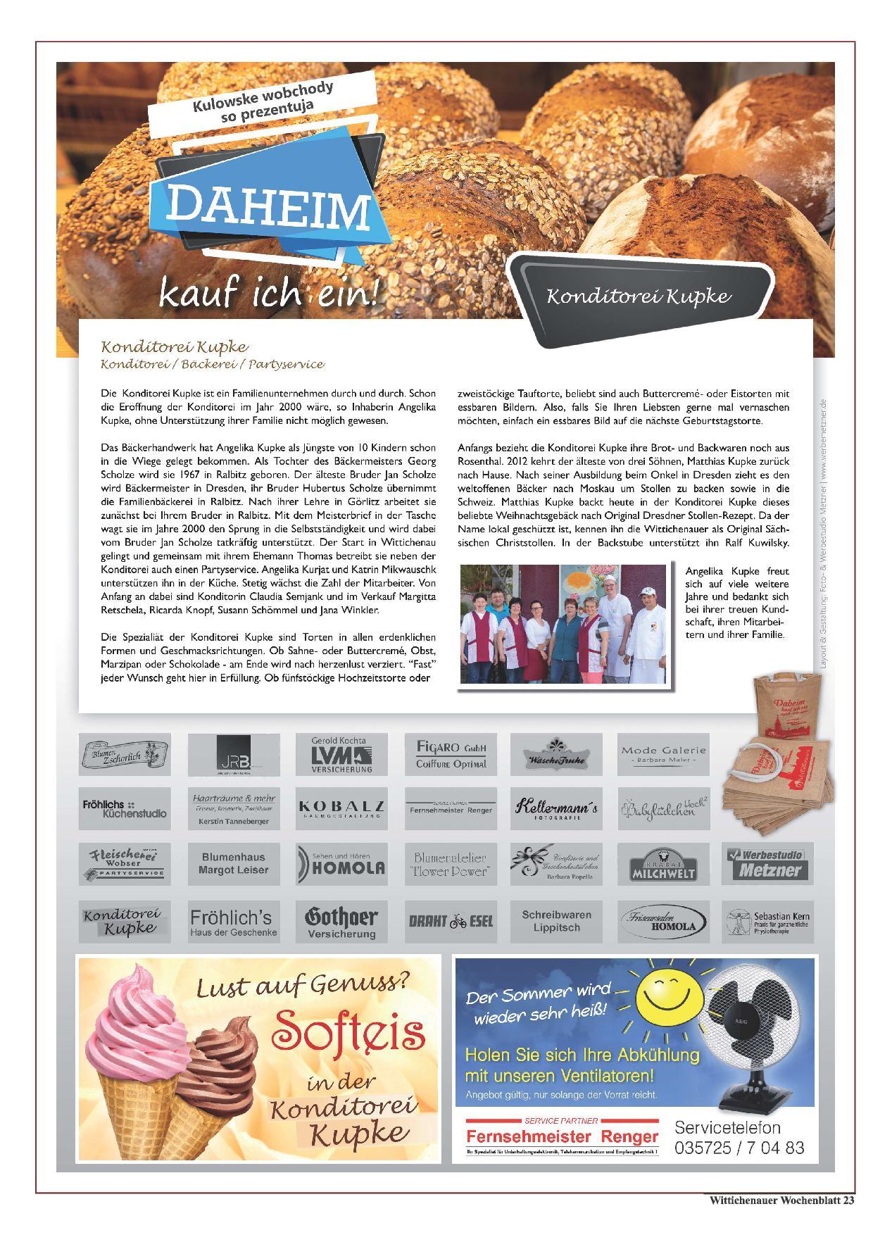 Wochenblatt Nr. 11 - 2019