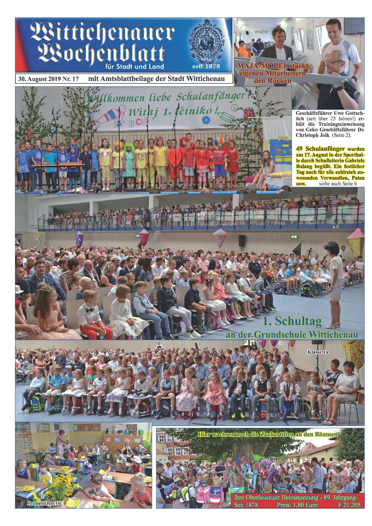 Wochenblatt Nr. 17 - 2019