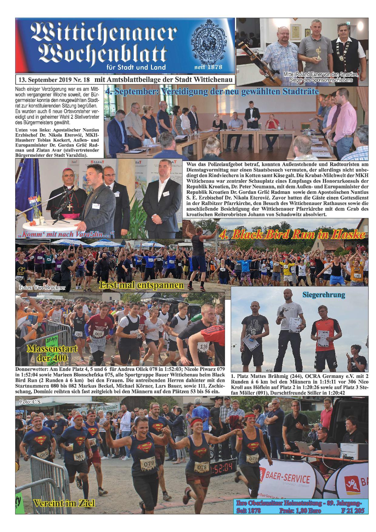 Wochenblatt Nr. 18 - 2019