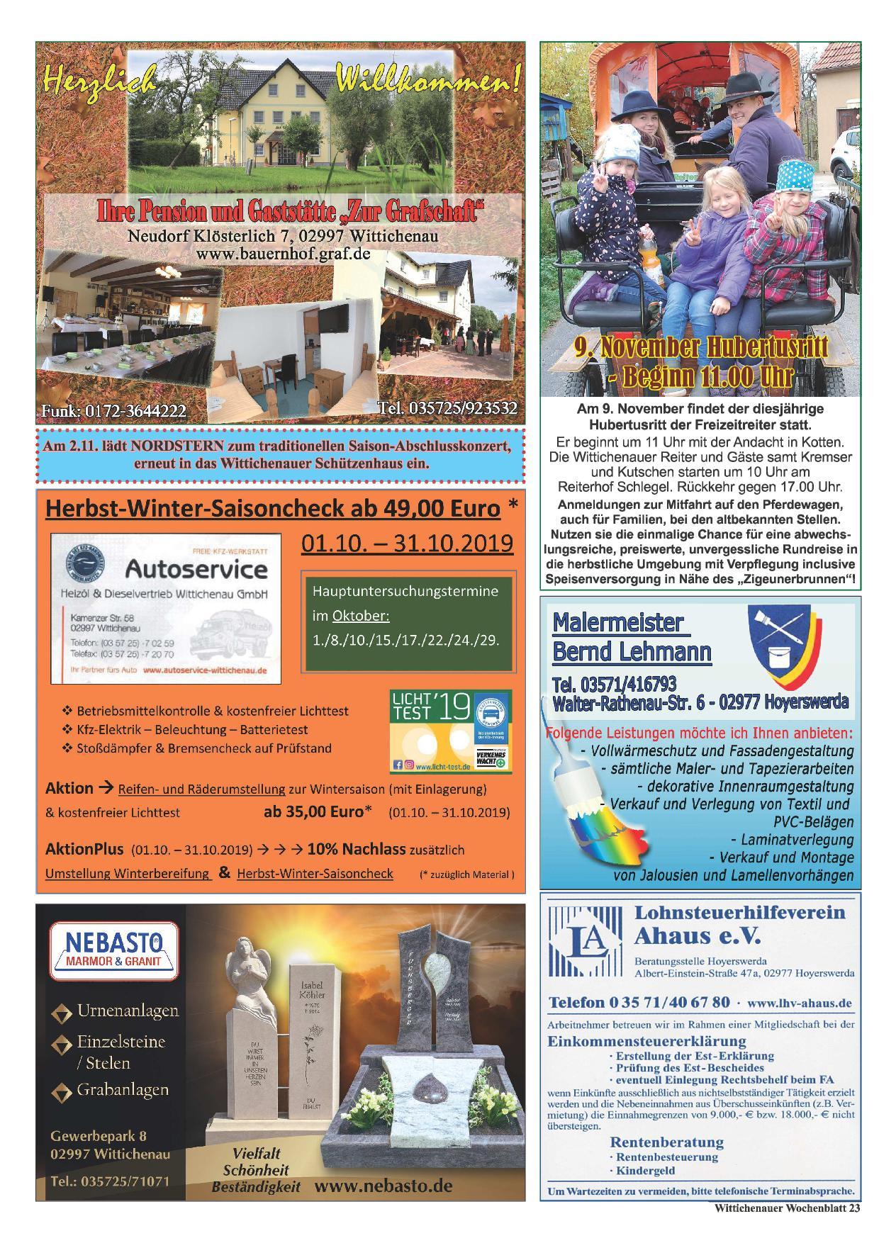 Wochenblatt Nr. 20 - 2019