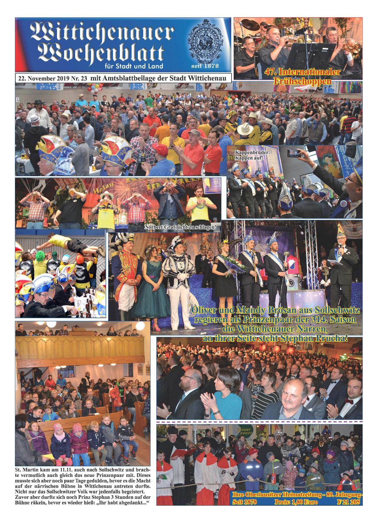 Wochenblatt Nr. 23 - 2019