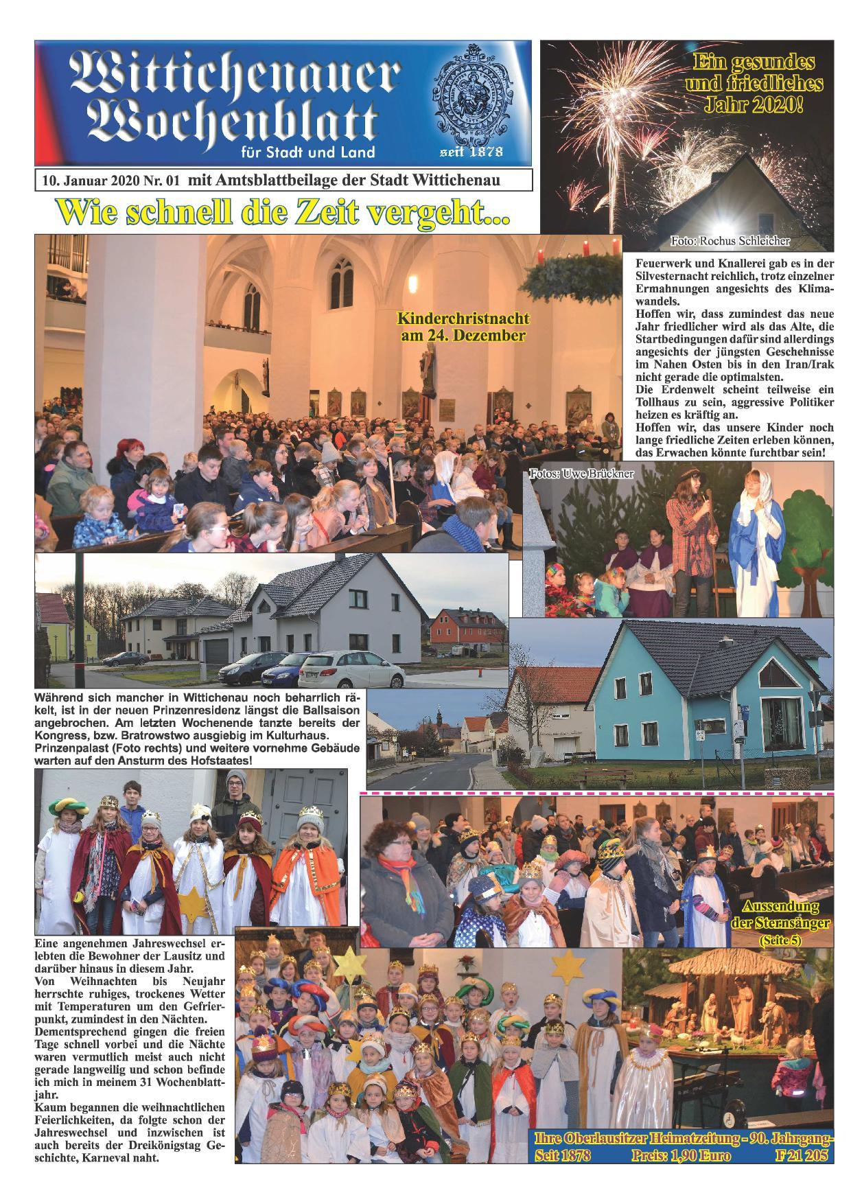 Wochenblatt Nr. 1 - 2020