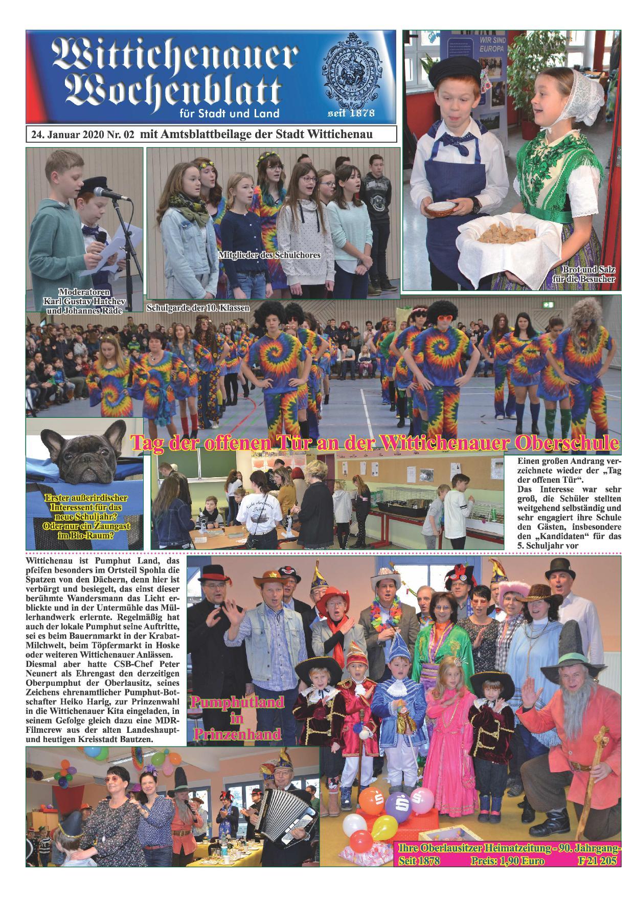 Wochenblatt Nr. 2 - 2020