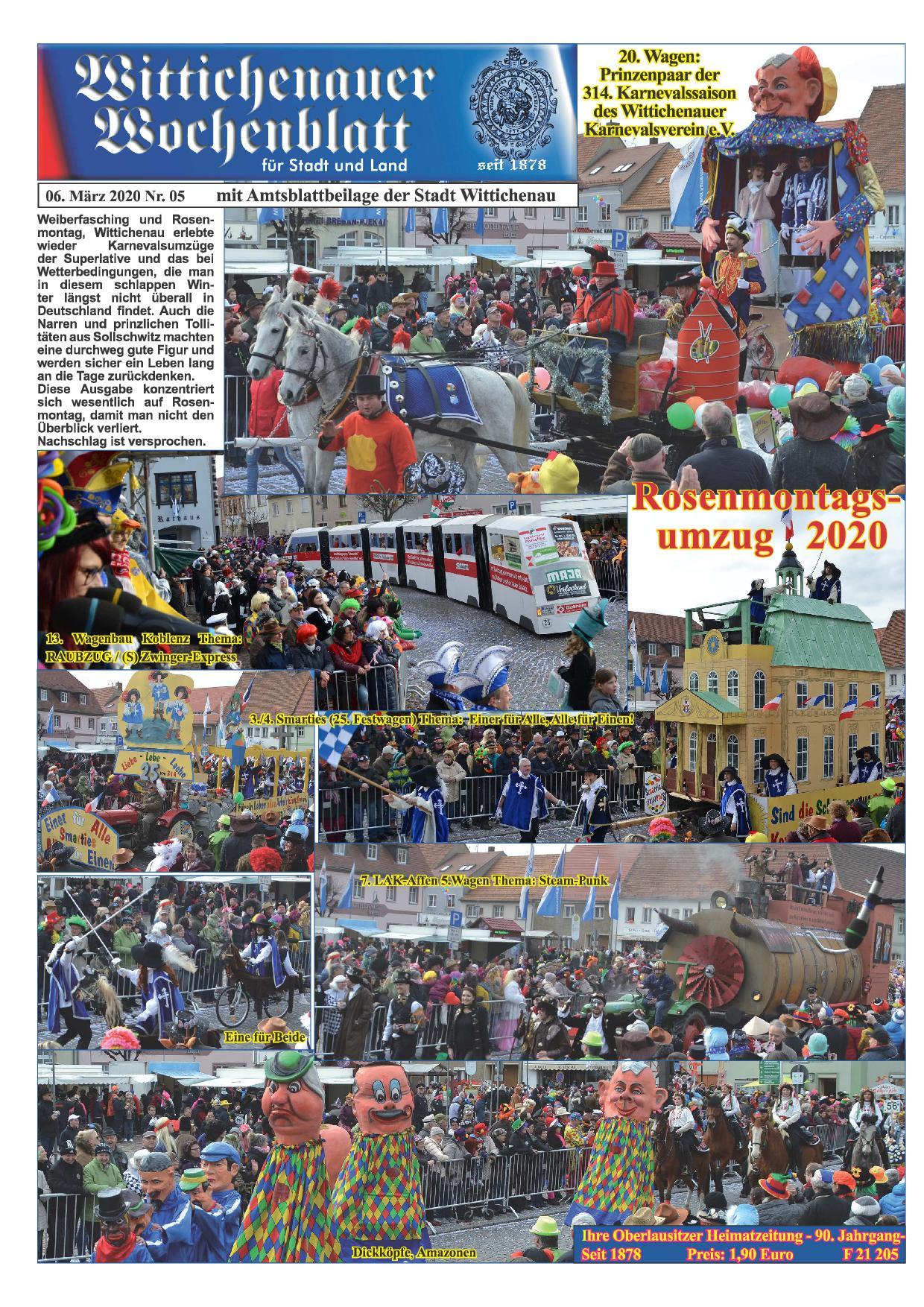 Wochenblatt Nr. 5 - 2020