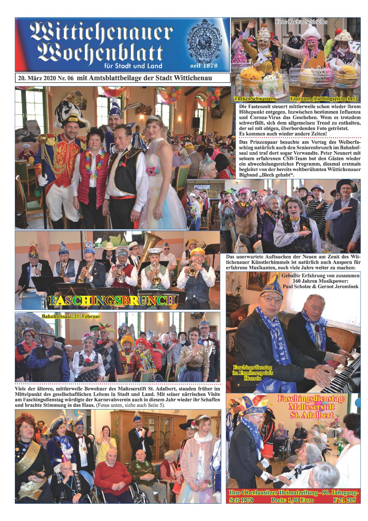Wochenblatt Nr. 6 - 2020