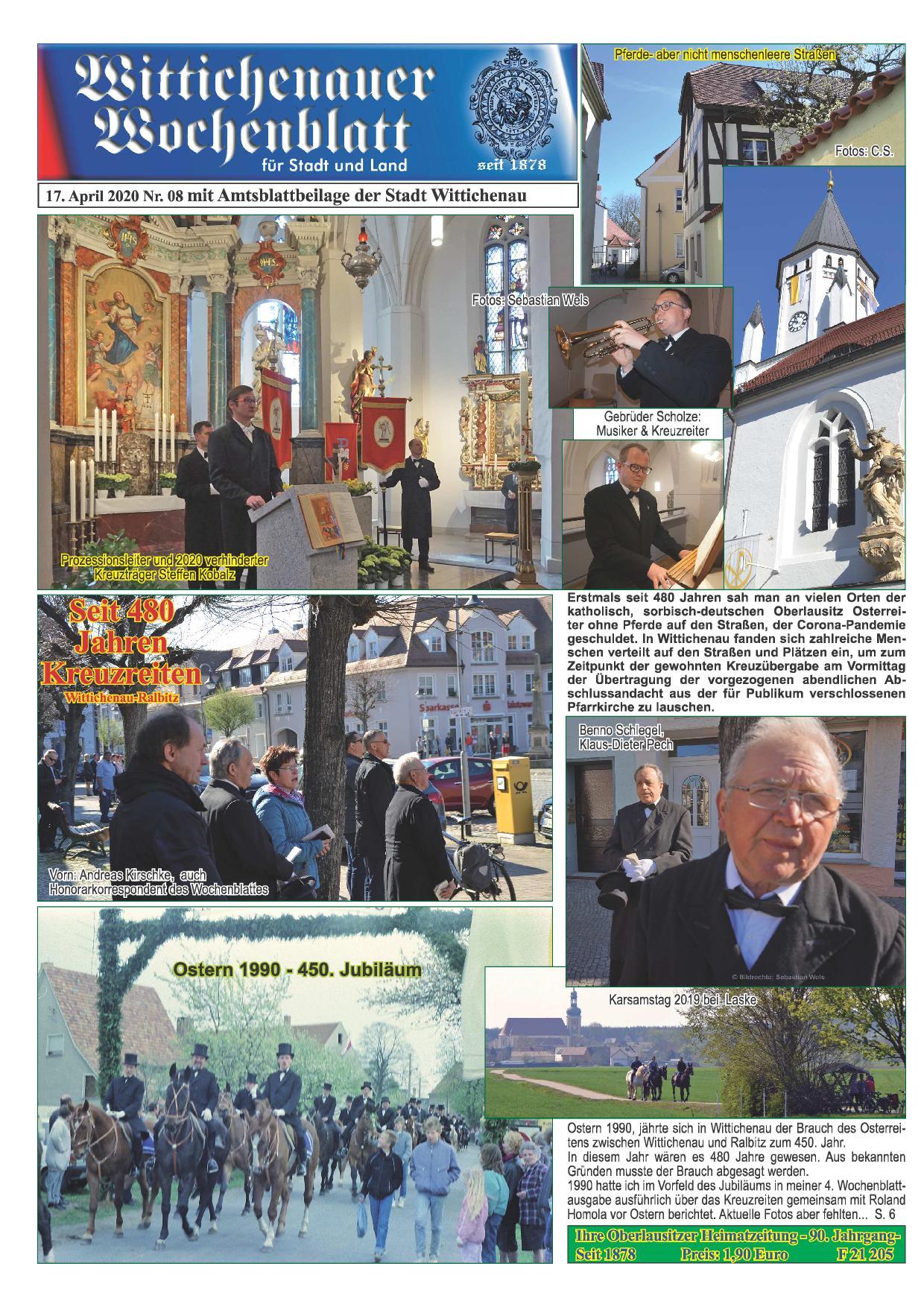 Wochenblatt Nr. 8 - 2020