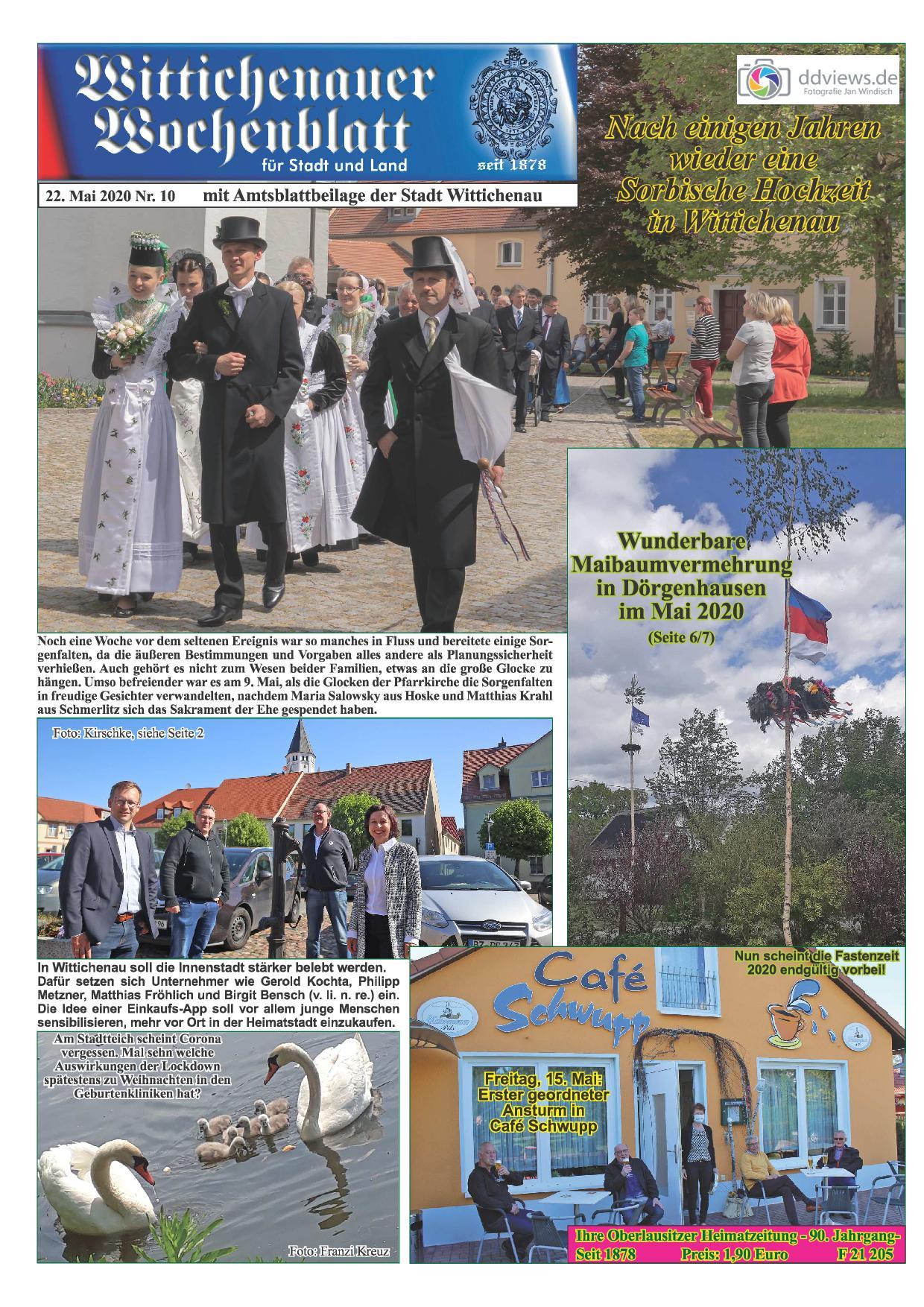 Wochenblatt Nr. 10 - 2020