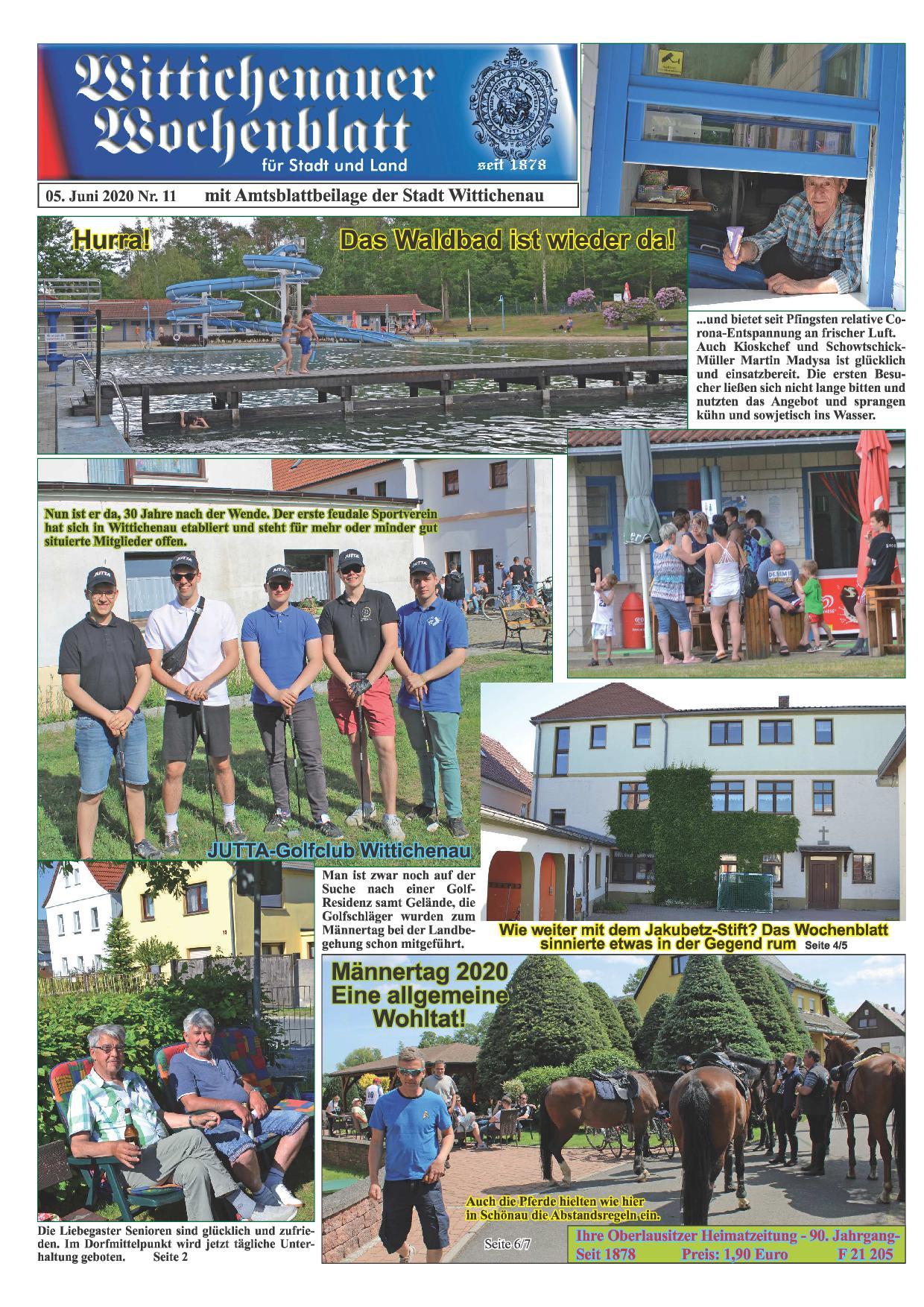 Wochenblatt Nr. 11 - 2020