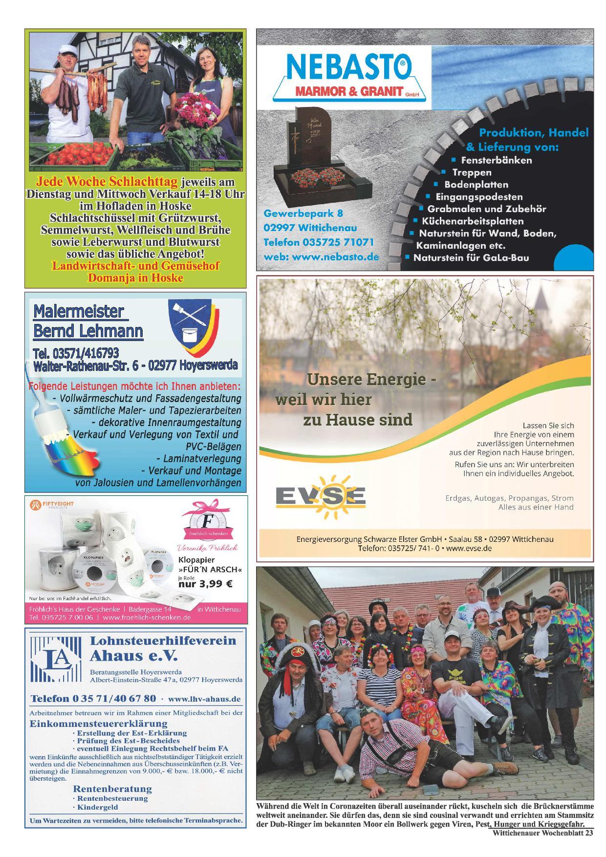 Wochenblatt Nr. 13 - 2020