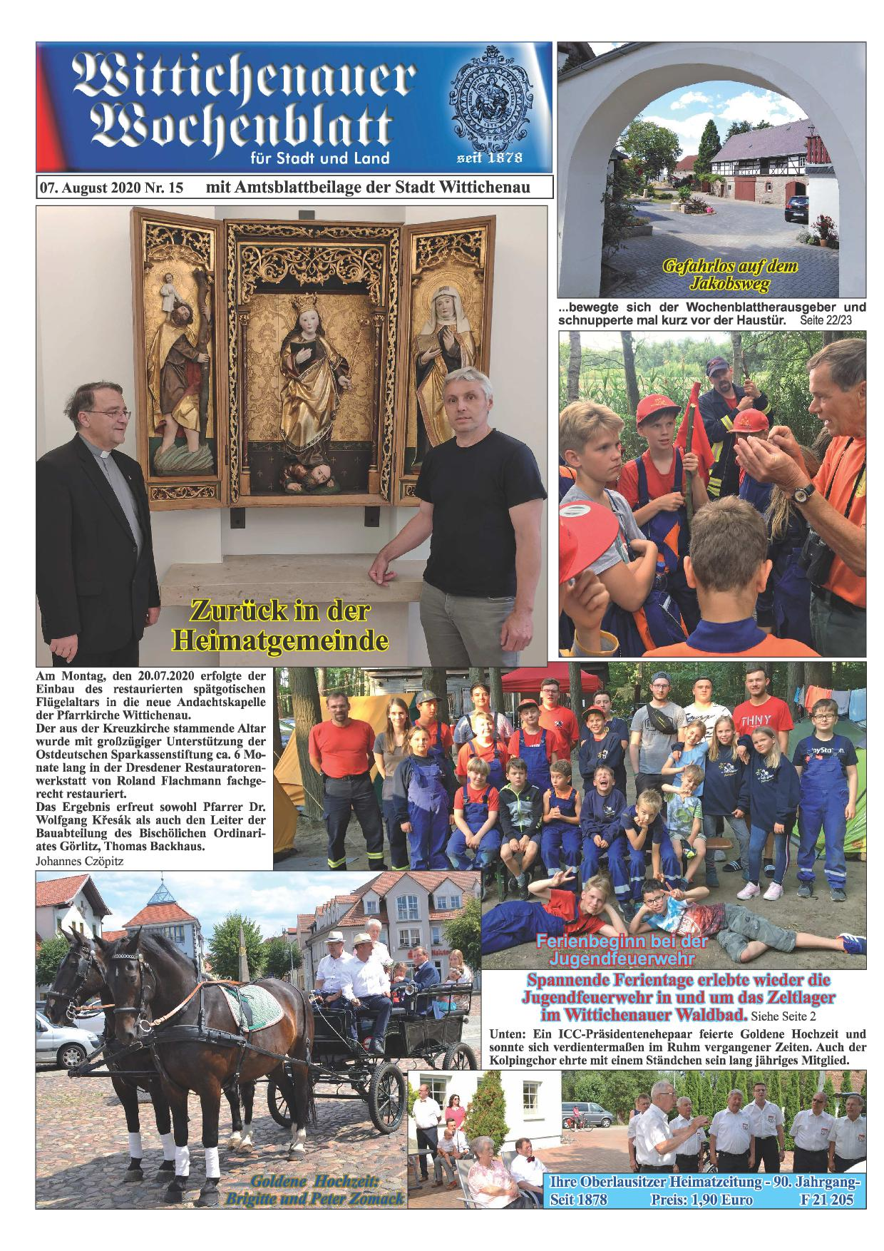 Wochenblatt Nr. 15 - 2020
