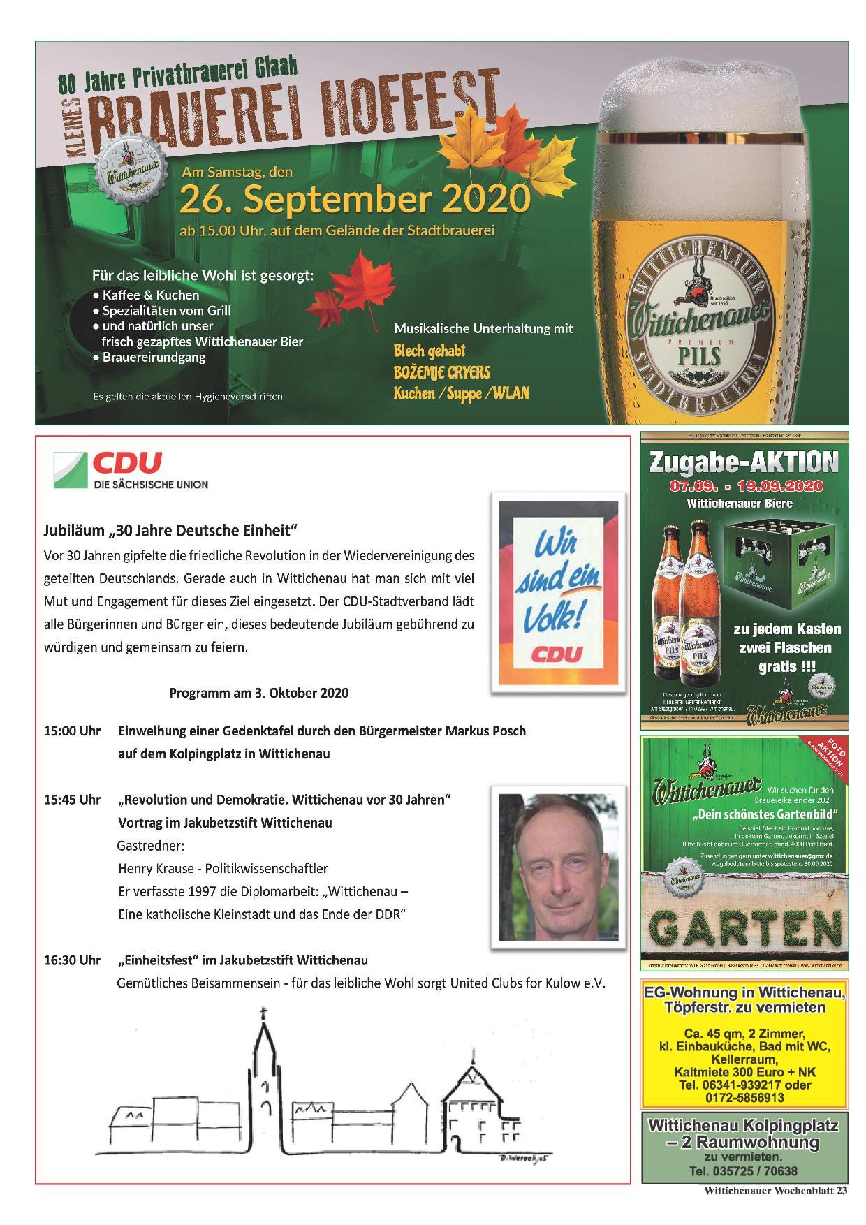 Wochenblatt Nr. 17 - 2020
