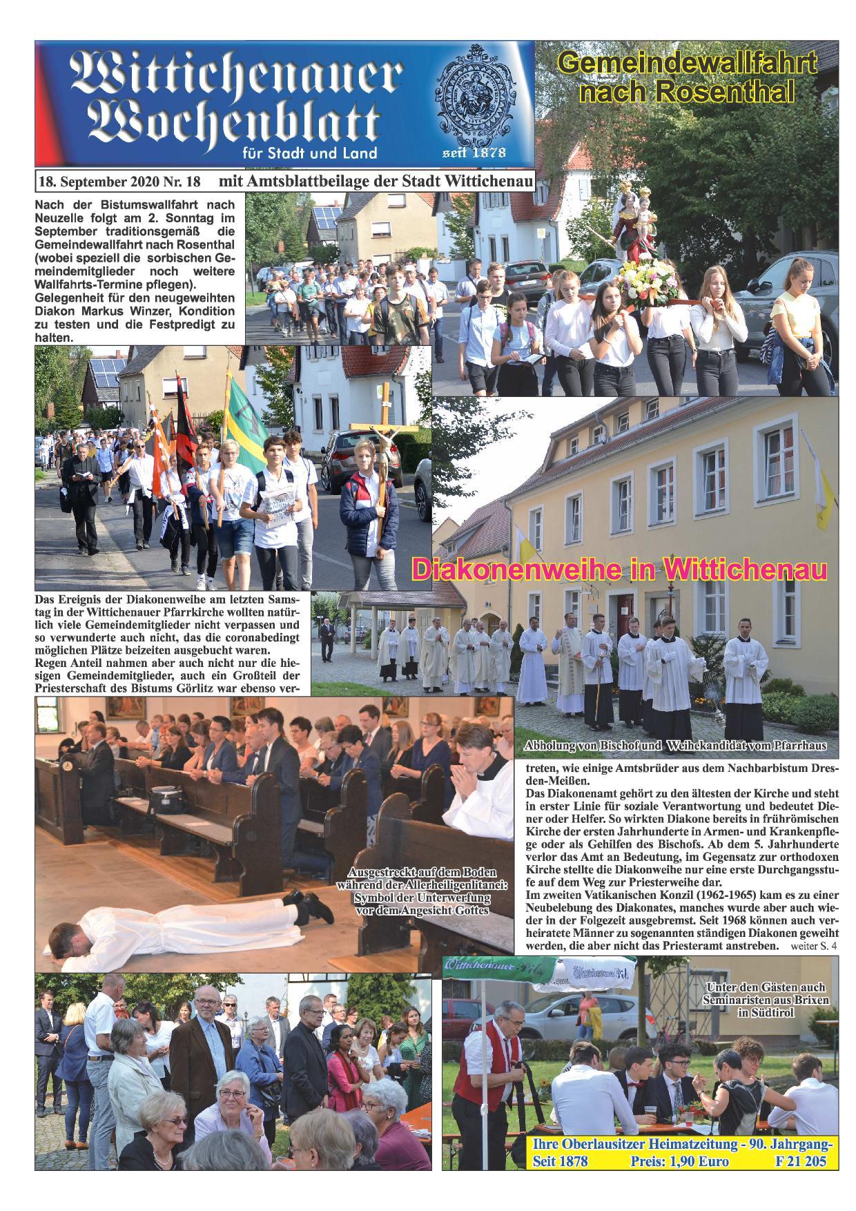 Wochenblatt Nr. 18 - 2020