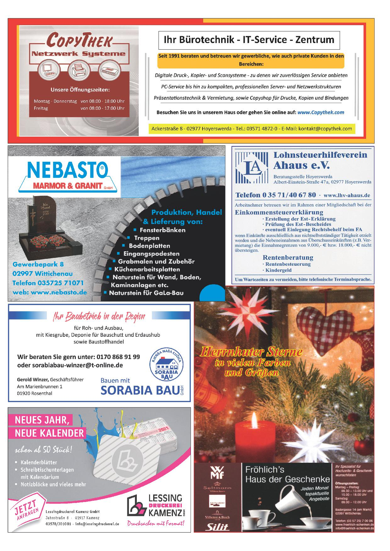 Wochenblatt Nr. 21 - 2020