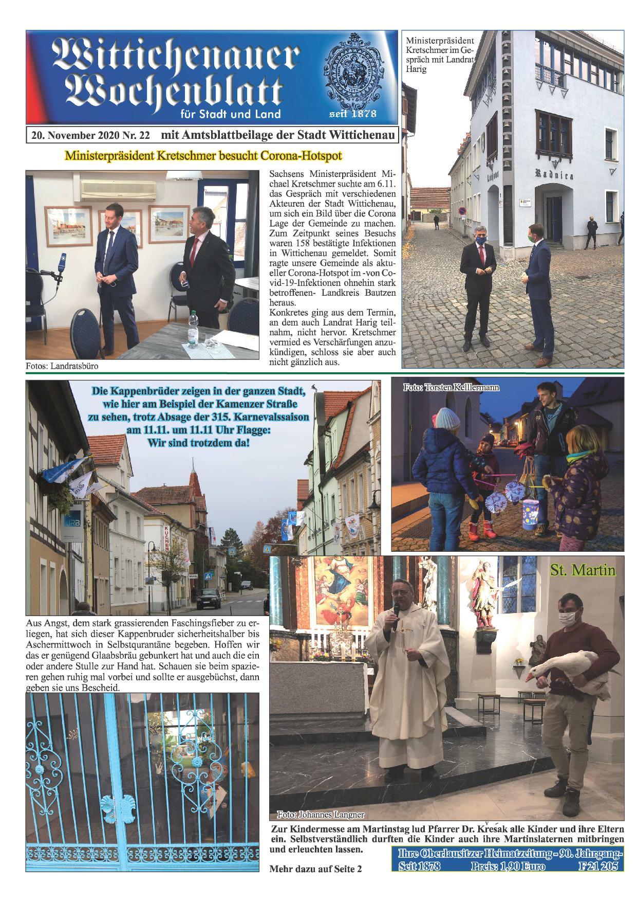 Wochenblatt Nr. 22 - 2020