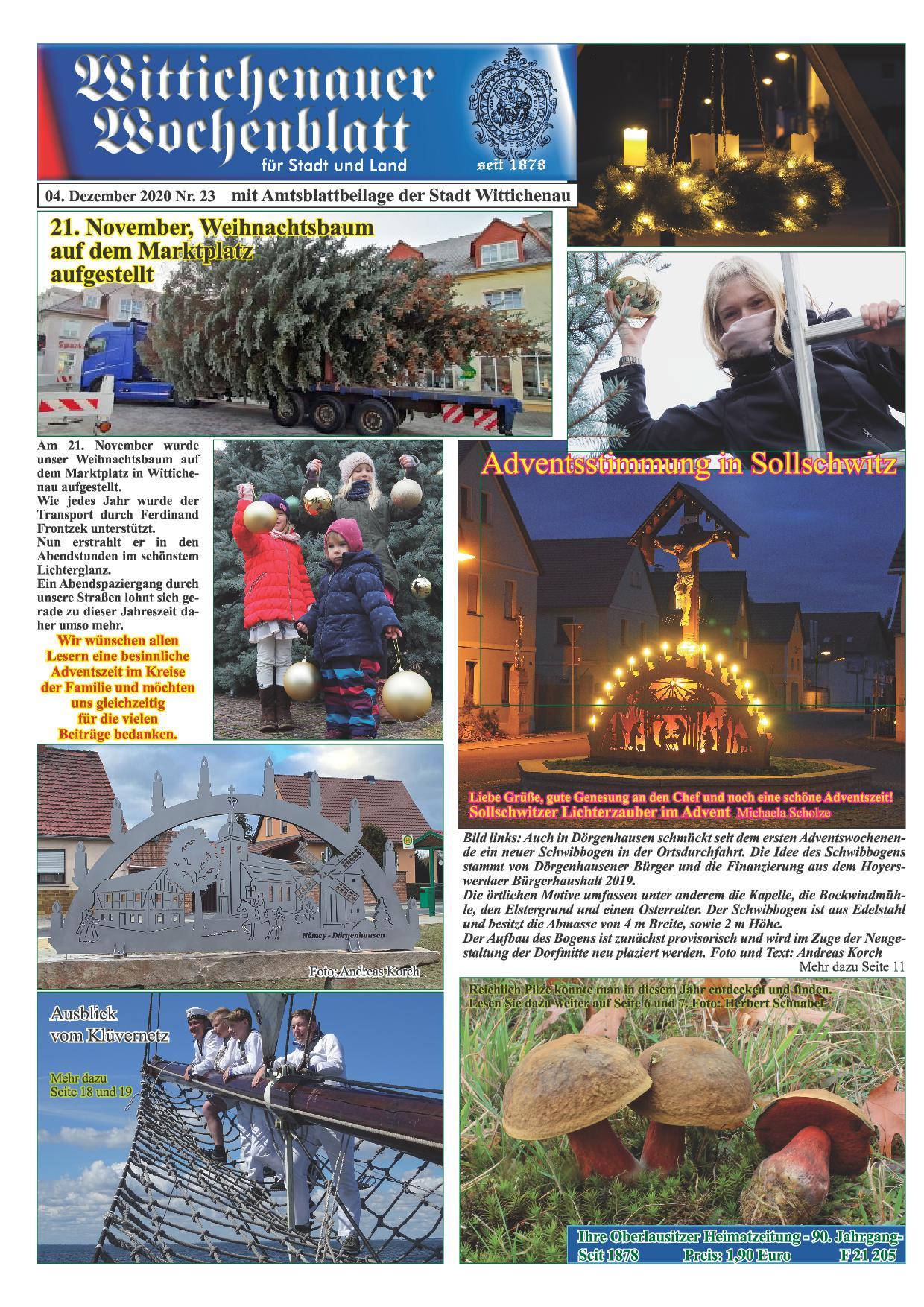 Wochenblatt Nr. 23 - 2020
