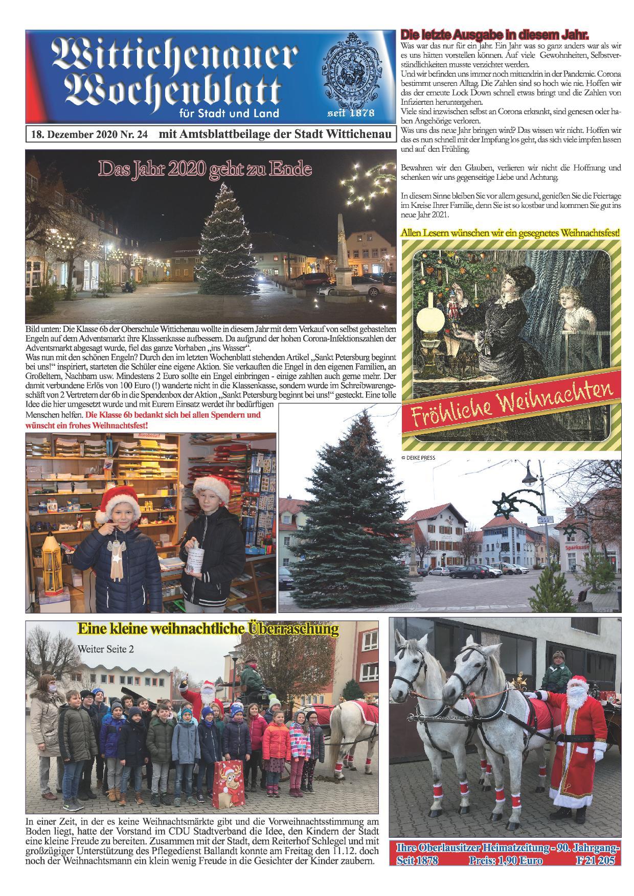 Wochenblatt Nr. 24 - 2020