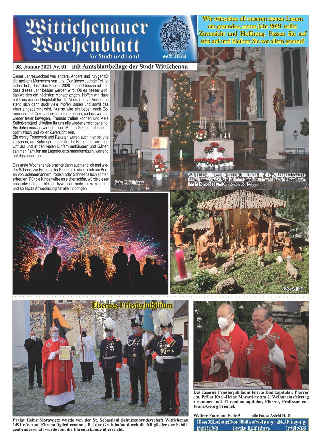 Wochenblatt Nr. 1 - 2021