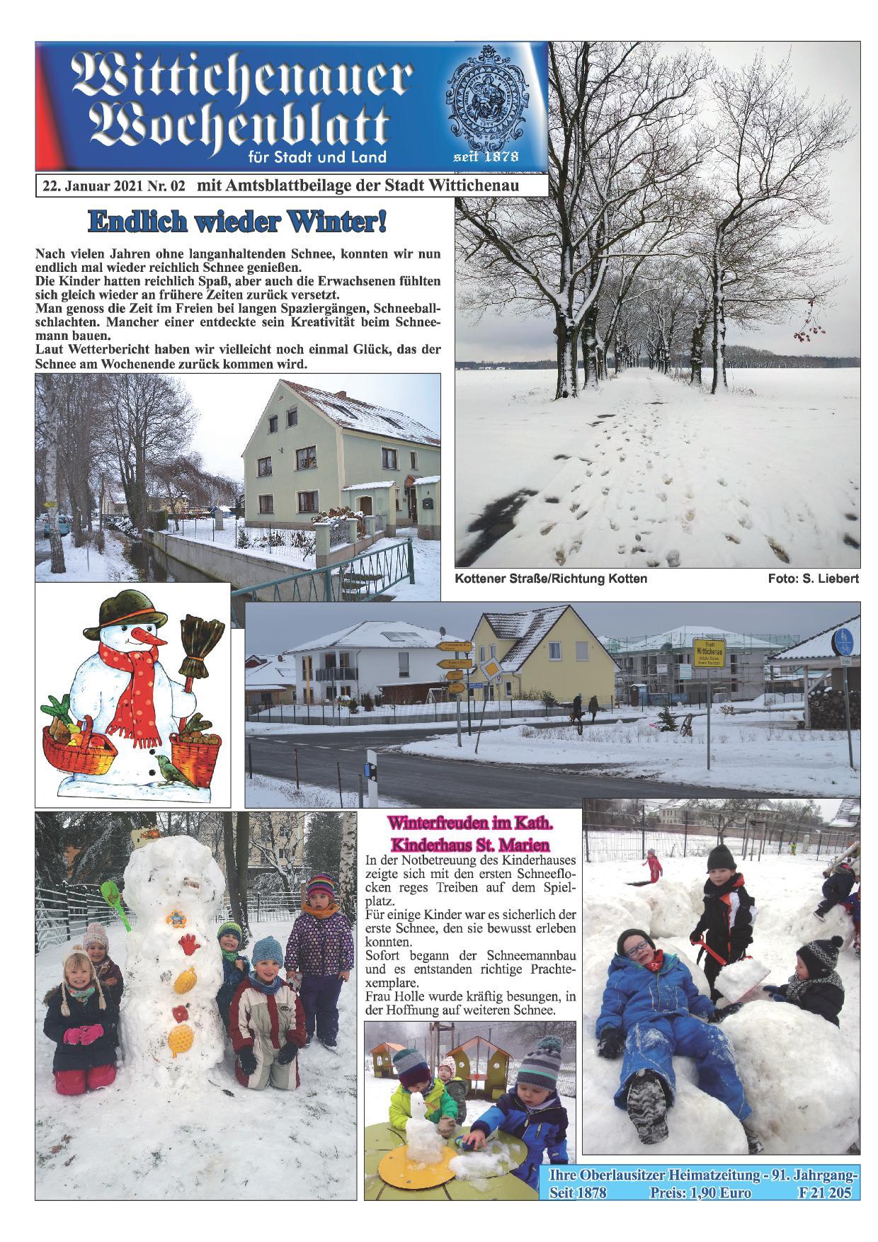 Wochenblatt Nr. 2 - 2021