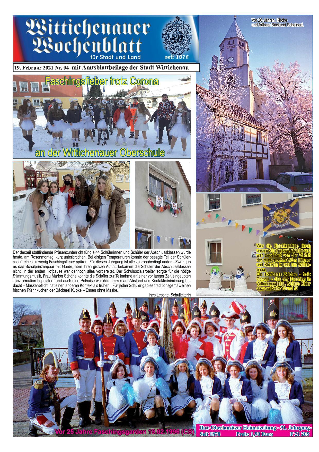 Wochenblatt Nr. 4 - 2021