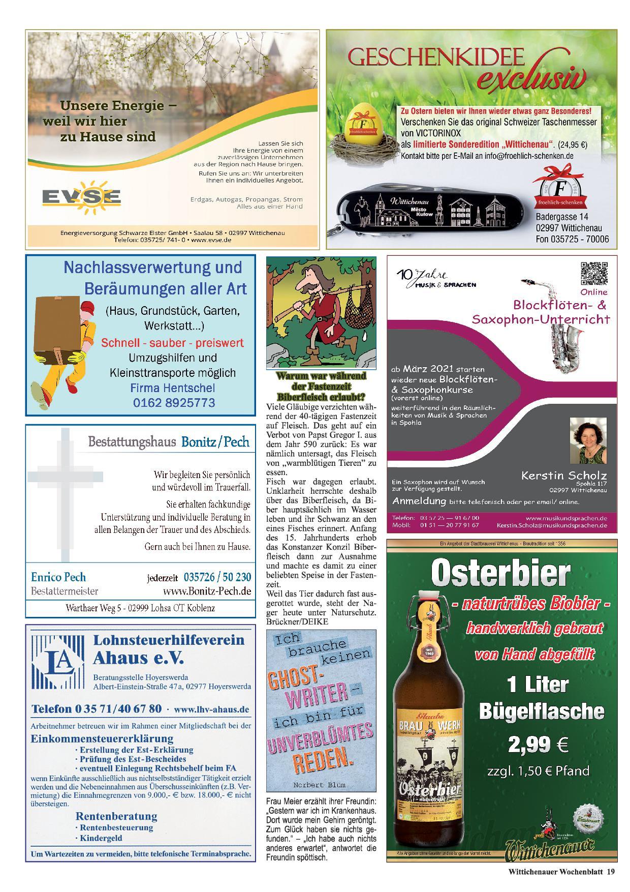 Wochenblatt Nr. 5 - 2021