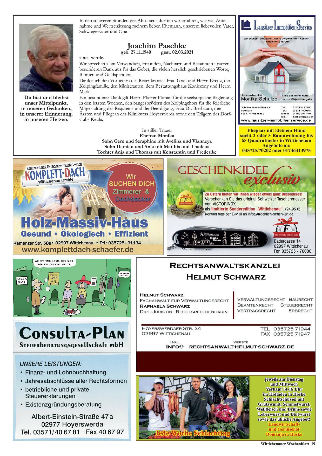 Wochenblatt Nr. 6 - 2021