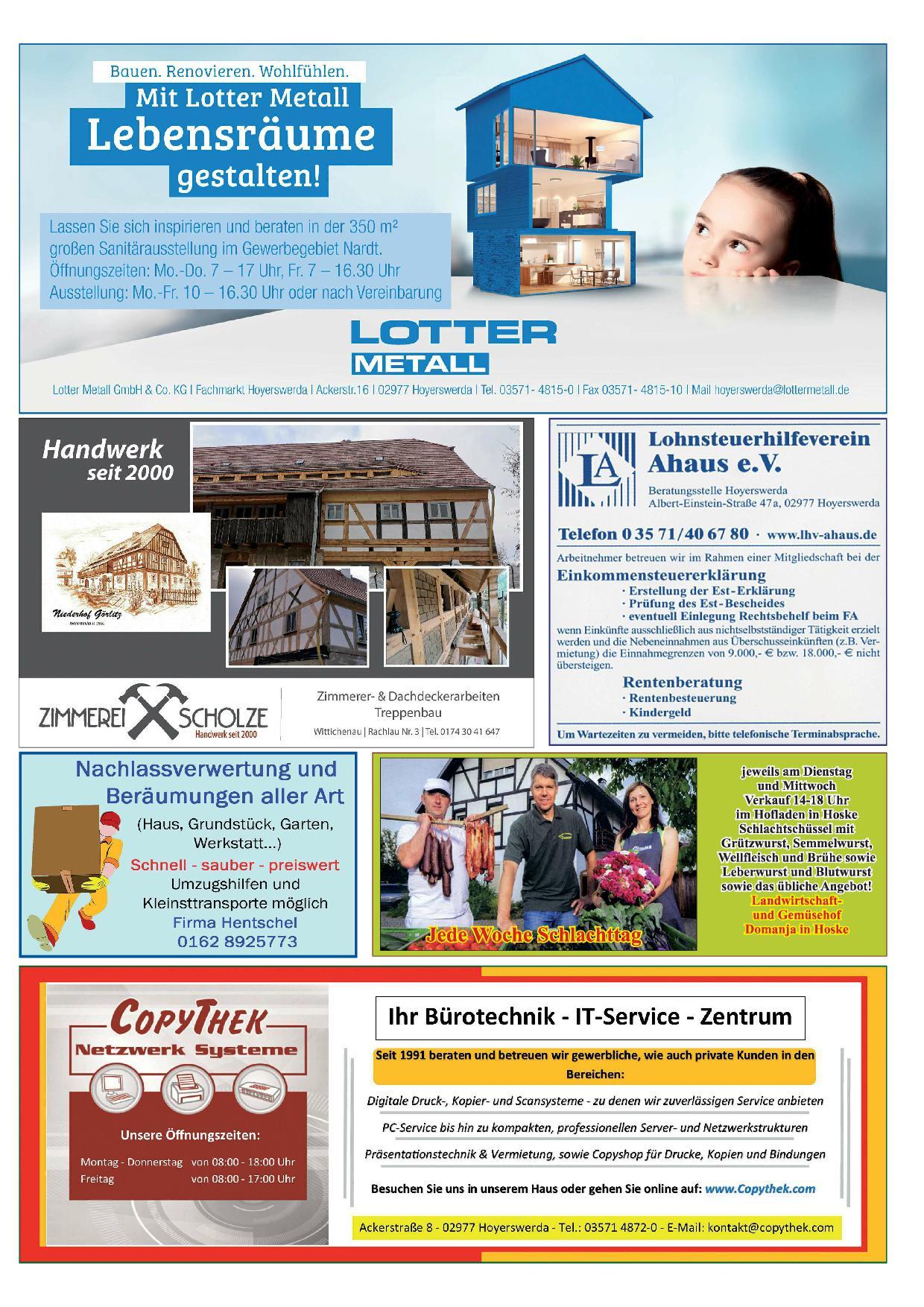 Wochenblatt Nr. 7 - 2021
