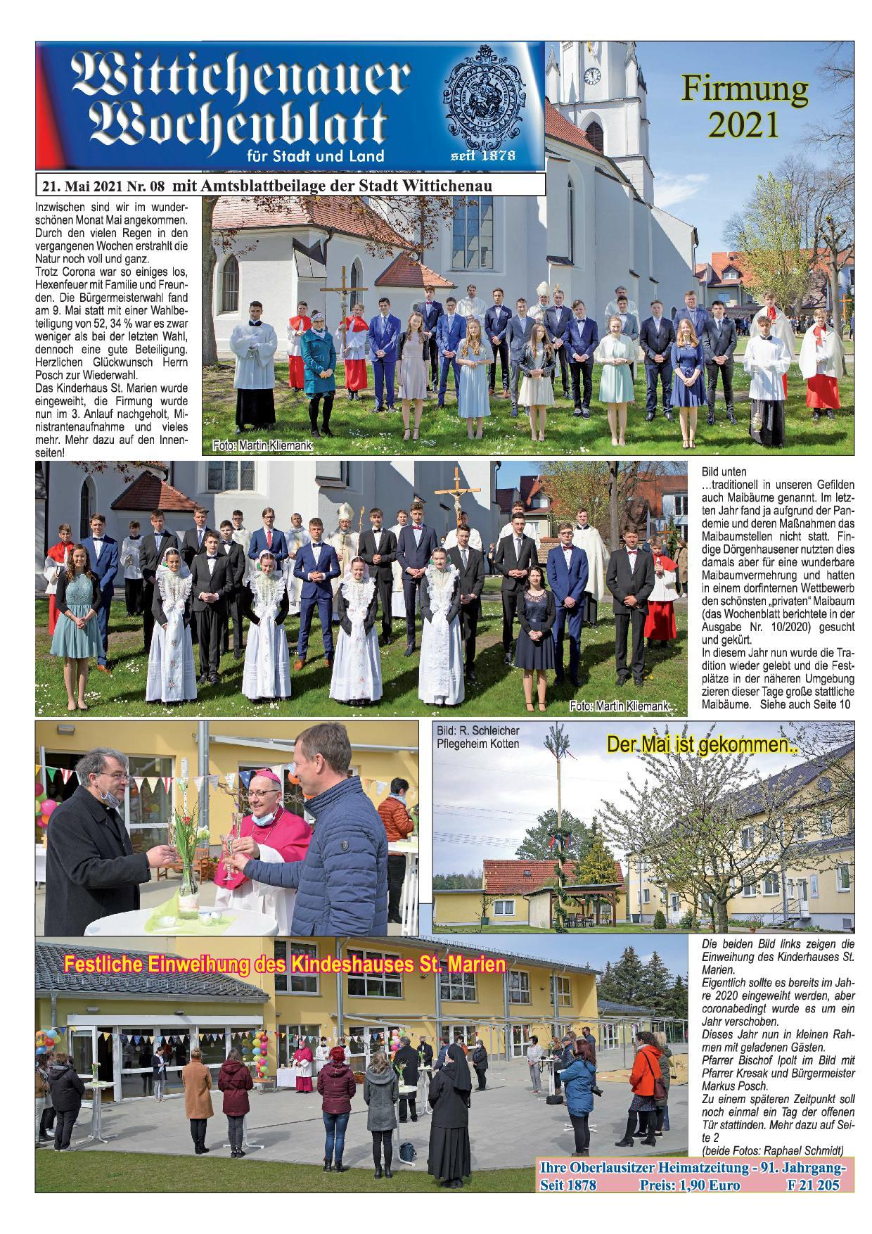 Wochenblatt Nr. 8 - 2021