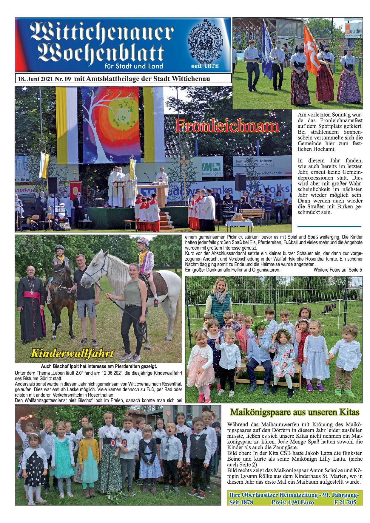 Wochenblatt Nr. 9 - 2021