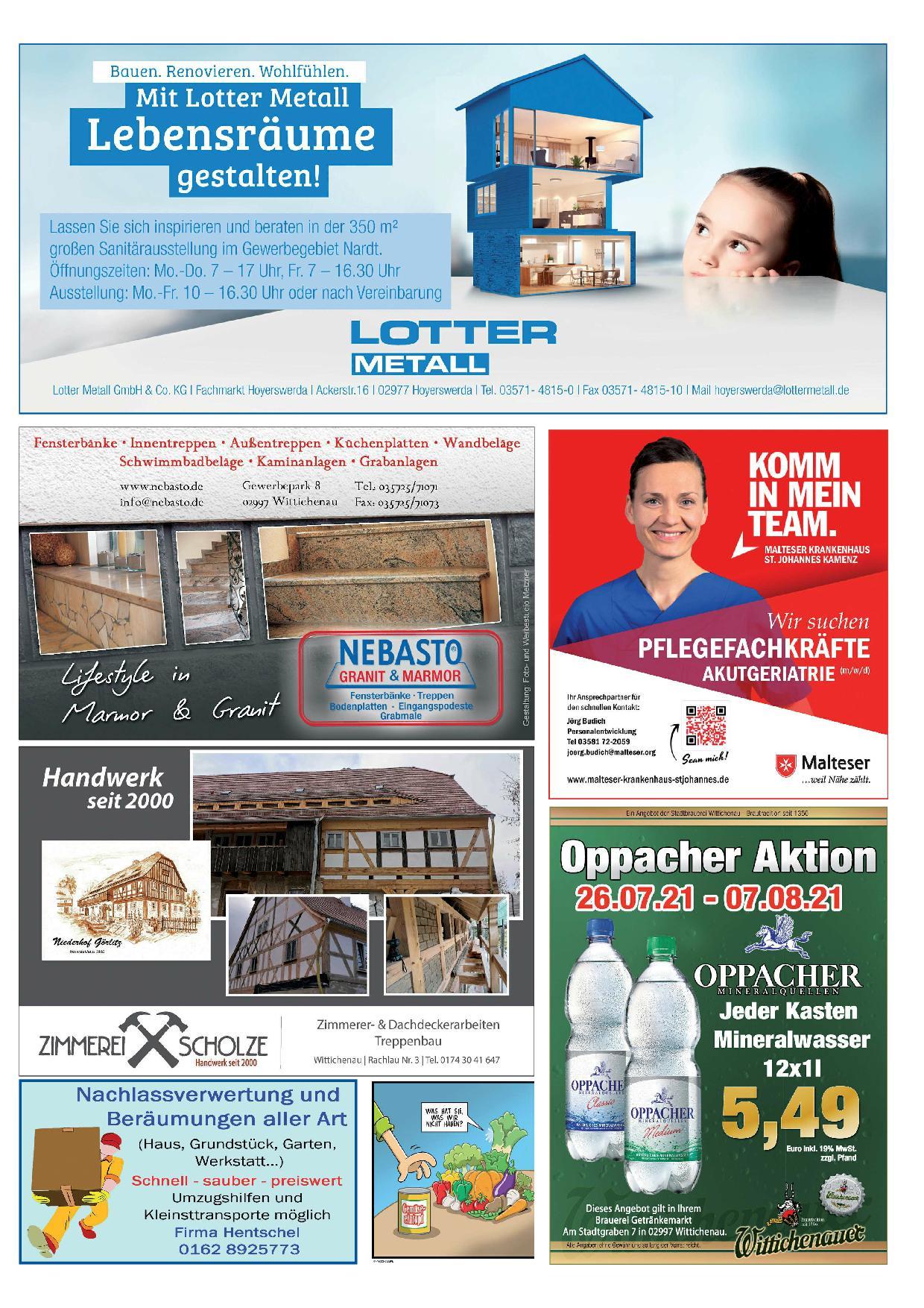 Wochenblatt Nr. 10 - 2021