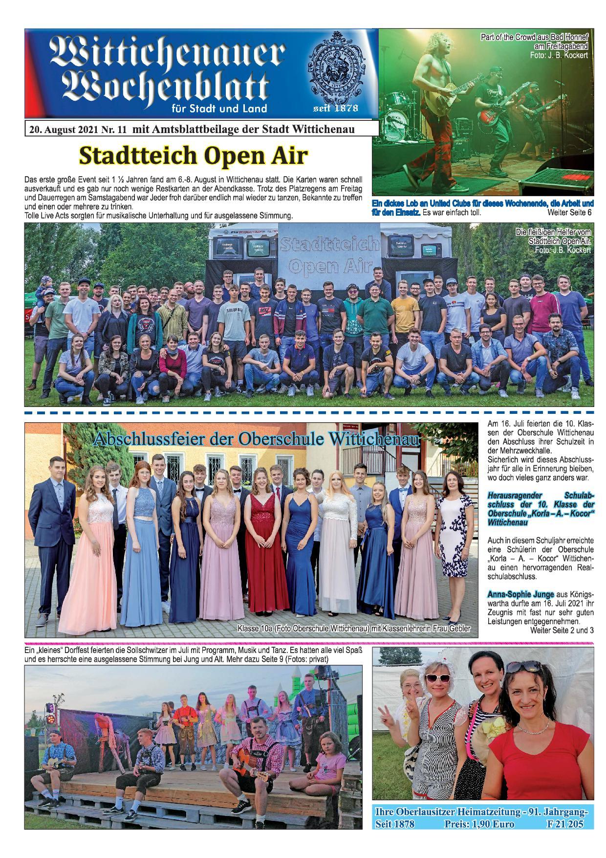 Wochenblatt Nr. 11 - 2021