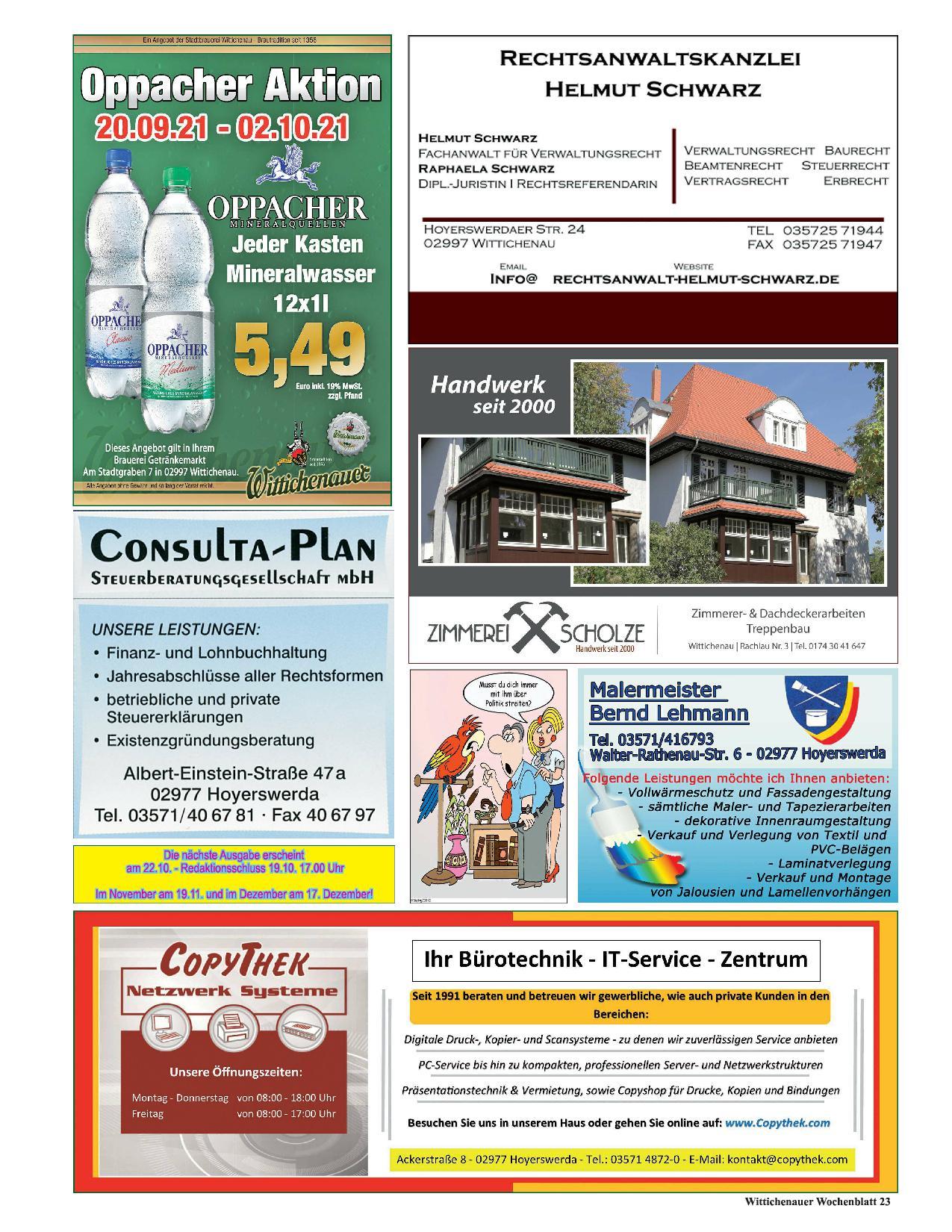 Wochenblatt Nr. 12 - 2021